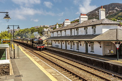 Mainline_2018_07_22_034 (Phil_the_photter) Tags: steam steamloco steamengine steamrailway 45690 leander jubillee 5xp frodsham danieladamson valley penmaenmawr chester northwalescoastexpress northwales rhyl rafvalley