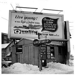 Home Advertisement, 1966 (vintage.winnipeg) Tags: vintage history historic winnipeg manitoba canada advertisement