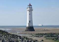 Perch Rock lighthouse, New Brighton h (Dugswell2) Tags: perchrocklighthouse newbrighton lowtide