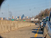 KC Skyline from Sideview Mirror, 17 Apr 2018 (photography.by.ROEVER) Tags: kc kcmo skyline kansascity kansascityskyline mirror reflection sideviewmirror i35 interstate highway road freeway commute rushhour april 2018 april2018 kansas usa
