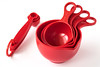 Taking My Measure (lclower19) Tags: holes nests cups measure spoons red odc closeup utensils kitchen