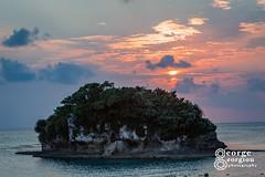 Japan_20180314_2084-GG WM (gg2cool) Tags: japan okinawa gg2cool georgiou dragon boat training sunset food paddle rowing beach