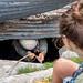 C'est parti !!! (Fern nebula) Tags: marguareis spéléologie speleology caving cave pit puits corde alpes rope hiking