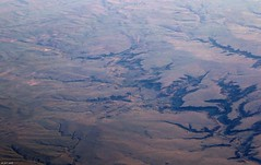 Canyons North of Villegreen, CO (zeesstof) Tags: zeesstof aerial aerialview viewfromwindow windowseat flight commercialflight saltlakecitytohouston united unitedairlines geo:lat=3795719223 geo:lon=10319664001 geotagged colorado lamar unitedstates usa