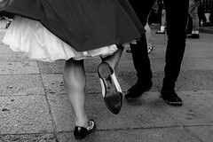 Watch behind-the-scenes of this photo (Frederik Trovatten) Tags: bnw gopro streetphotography streetphoto streets street public shoe shoes jive swing dance blackandwhitephotography blackandwhite monochromatic monochrome fuji fujifilm noir video