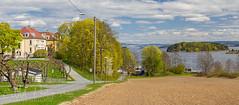 View on Vettre (ESM Photographics) Tags: vettre landscape norway akershus canon oslofjord bjerkøja strandveien water trees clouds bluesky field
