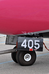 Avions de Transport Régional ATR 42-600 (A380spotter) Tags: undercarriage landinggear nosegear avionsdetransportrégional atr42 600 fwwlc n405sv ship405 zoë flipflopsoptional silverairways sil 3m staticdisplay fia18 farnboroughinternationalairshow2018 taglondonfarnboroughairport eglf fab