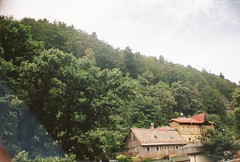 Czech Switzerland (Zissou93) Tags: české švýcarsko czech switzerland national park landscape nature la sardina lomography cn 400 analogue trip holiday