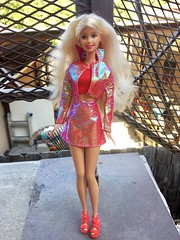 Red Iridescent (Athena Fenstermacher) Tags: barbie pink photography fashion doll barbiedoll
