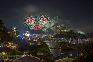 Saint Anna 2018 celebration  Fireworks
