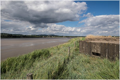 River Severn: Arlingham, Pill Box (all you need is light) Tags: riversevern arlingham gloucestershire