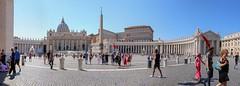 Vatican Panorama (haberlea) Tags: rome vatican architecture panorama