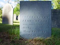 James Bunce (Pak T) Tags: bunce cemetery externalflash fairviewcemetery findagrave grave graveyard inscription olympusfl36 panasoniclumixgxvario1235mmf28 slate westford