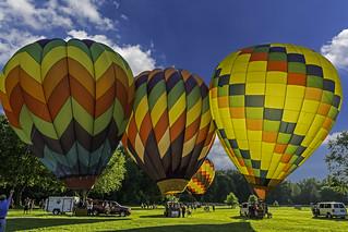 Midland hot air balloon and River Days 2018