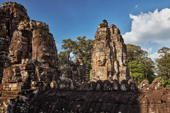 Bayon – Stone faces (Thomas Mülchi) Tags: bayon temple angkor siemreap cambodia 2018 siemreapprovince angkorthom tower stoneface architecture krongsiemreap kh