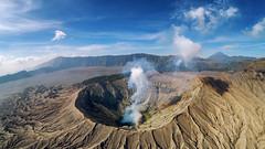 Gunung Bromo (3dgor 加農炮) Tags: volcano gunung bromo indonesia dronr phantom4pro