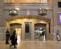 Grand Central Terminal (Photographs By Wade) Tags: newyorkcity newyork manhattan grandcentralterminal grandcentralstation gcs gct people guard doors passage