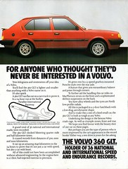 1985 Volvo 360 GLT Hatchback Aussie Original Magazine Advertisement (Darren Marlow) Tags: 1 3 5 8 9 19 85 1985 volvo 360 glt g l t h hatchback c car cool collectible collectors classic a automobile vehicle s sweden swiss e europe european 80s