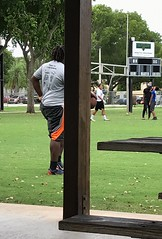 Football 66 (LarryJay99 ) Tags: blackman sports player man men guy guys dude male studly manly dudes handsome dreadlocks heavydude