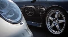 Porsche on Porsche (maberto) Tags: california carshow d7200 folsom nikon automobile car carsandcoffee eurosunday ©bradmaberto porsche reflection wheel hamann gt2