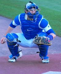 B9836 Catcher Danny Jansen of the Bisons (sabre11richard) Tags: international league baseball minor triple a affiliate toronto blue jays aaa herd
