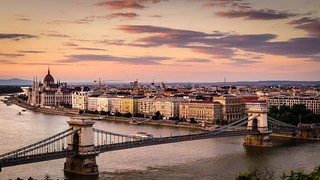 Evening at Budapest