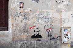 Banksy street art (mahtieuc) Tags: artderue arturbain banksy paris streetart urbanart îledefrance france fr ruemaîtrealbert