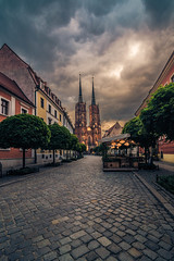 Tumski island (Vagelis Pikoulas) Tags: wroclaw poland europe sunset travel tokina 1628mm landscape city cityscape urban view canon 6d sky clouds may spring 2018