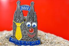 ... Kölle Alaaf ... (wolli s) Tags: carnival carnivalclub cathedral cologne dom karneval karnevalsverein macromondays sticker trinkets macro necktie tie