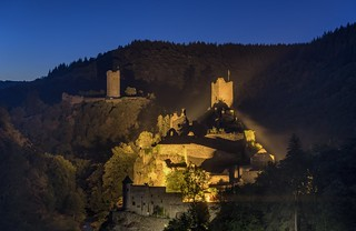 *Manderscheid Castles @ late night shooting*