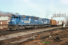CR 6088                          4-78 (C E Turley) Tags: railway c628 sd45 cr conrail lv el