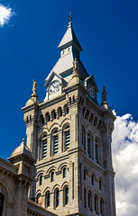 Erie County Courthouse Clock Tower (Eridony (Instagram: eridony_prime)) Tags: buffalo eriecounty newyork downtown cityhall clocktower courthouse countycourthouse historic nrhp nationalregisterofhistoricplaces constructed1875
