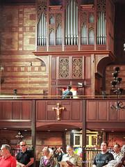 Organ player (redroofmontreal) Tags: jazzmass stjohntheevangelist saintjohntheevangelist service mass liturgy anglican anglocatholic church christian montreal redroof redroofchurch myerrandolph