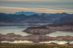 Lake Mead at Sunset (ap0013) Tags: lake mead sunset landscape mountain desert water lakemead nationalrecreationarea nra las vegas lasvegas nevada sun