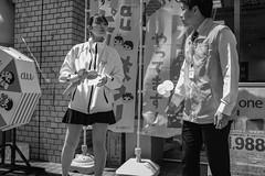Balloon girl (Bill Morgan) Tags: fujifilm fuji x100f bw acros jpeg lightroomclassic street girl kichijoji tokyo