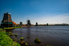 Windmill Long Exposure (Brian Out and About) Tags: nikon d5200 ©brianblair2018 longexposure daytime netherlands windmills holland europe travel photography amateur water