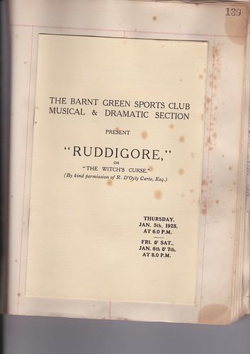1928: Jan Programme 1