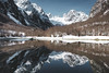 National Park Prokletije, Montenegro (Sunny Herzinger) Tags: albania grebaje fujixpro2 refelction travel mountains snow montenegro lake europe balkan nationalparkprokletije opštinaplav me