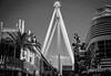War of the Worlds (astr0chimp) Tags: usa las vegas city views high roller blackwhite