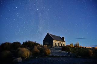 Classic subject, Church of the Good Shepherd, Lake Tekapo, New Zealand