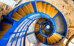Treppenhaus Spirale (petra.foto busy busy busy) Tags: schnecke treppe treppenhaus spirale stairs leuchtturm flügge fehmarn schleswigholstein germany fotopetra canon 5dmarkiii