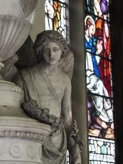 Weeping angel (badger_beard) Tags: st saint mary virgin church linton cambridgeshire cambs cambridge haverhill south joseph wilton sculpture monument memorial elizabeth bacon peter standly