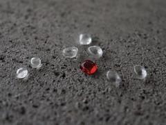 Focus Red (Robert Cowlishaw (Mertonian)) Tags: focusred red cement concrete evening concretecanvas simplicity glass pieces texture canon powershot g1x mark iii canonpowershotg1xmarkiii mertonian robertcowlishaw