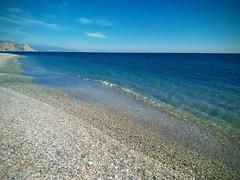 (aliciap.clausell) Tags: playa beach azul blue mar agua water mediterráneo