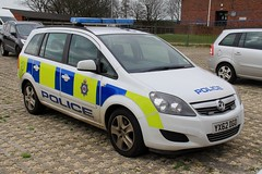 West Yorkshire Police Vauxhall Zafira Supervision Car (PFB-999) Tags: west yorkshire police wyp vauxhall zafira mpv supervision vehicle car unit lightbar grilles leds yx62dgo