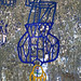 Le Pendu (Le Jardin des Tarots de Niki de Saint Phalle à Capalbio, Italie)