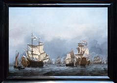 The Surrender of the Royal Prince   Willem van de Velde II   c.1670   The Rijksmuseum-52 (Paul Dykes) Tags: rijksmuseum museumofthenetherlands art gallery museum amsterdam netherlands nl holland thesurrenderoftheroyalprince willemvandeveldeii 1670