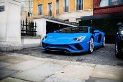 Aventador S (Supercar Stalker) Tags: lamborghini aventador lamborghiniaventador aventadors s lamborghiniaventadors london supercar supercarstalker blue car italian v12 perfect