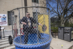 Dunk A Dean (CarnegieMellonU) Tags: dean dunk booth carnival special olympics police charity pittsburgh pa usa