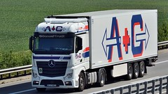 RO - A+C Transporten MB New Actros 1845 Bigspace (BonsaiTruck) Tags: ac mb actros lkw lastwagen lastzug truck trucks lorry lorries camion caminhoes